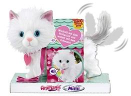 Animagic 256576 Katze Mimi, Elektronisches Haustier, weiß - 1