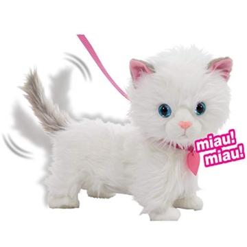 Animagic 256576 Katze Mimi, Elektronisches Haustier, weiß - 2