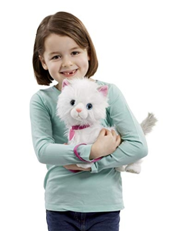 Animagic 256576 Katze Mimi, Elektronisches Haustier, weiß - 4
