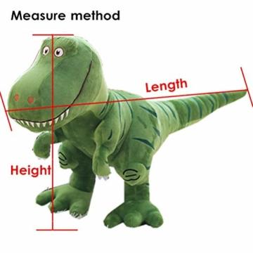 Dinosaurier Plüsch Cuddle Toys Stofftier Plüschtier Kuscheltier Dinosaurier 40 cm Lang Figur für Baby Jungen Mädchen Kinder … - 2