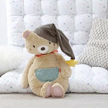 Fehn 060225 Kuscheltier Bär – Weiches Stofftier zum Greifen, Fühlen und Knuddeln – Für Babys und Kleinkinder ab 0+ Monaten – Größe: 25 cm - 3