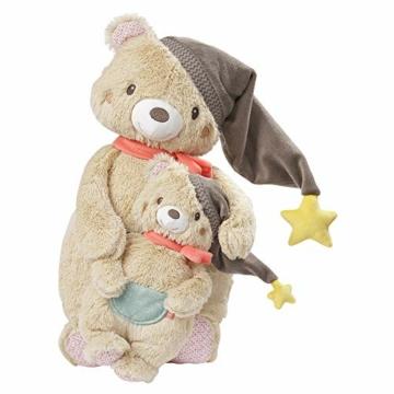 Fehn 060225 Kuscheltier Bär – Weiches Stofftier zum Greifen, Fühlen und Knuddeln – Für Babys und Kleinkinder ab 0+ Monaten – Größe: 25 cm - 6