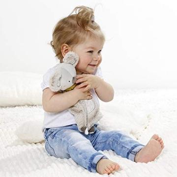 Fehn 064056 Schmusetuch Koala – Schnuffeltuch mit Koala-Köpfchen – Zum Kuscheln für Babys und Kleinkinder ab 0+ Monaten – Maße: 27 cm - 4