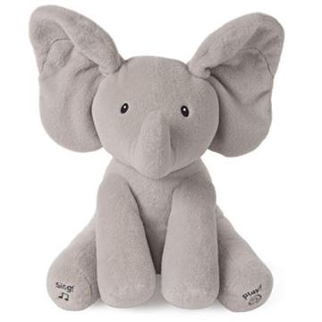 GUND - 6053047 -Interaktiver Flappy der Elefant, ca. 30 cm - 1