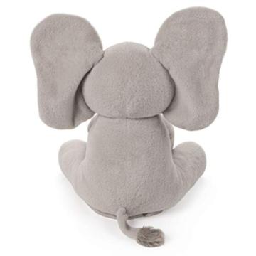 GUND - 6053047 -Interaktiver Flappy der Elefant, ca. 30 cm - 5