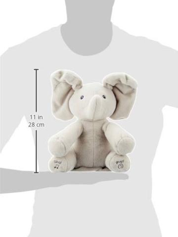 GUND - 6053047 -Interaktiver Flappy der Elefant, ca. 30 cm - 6
