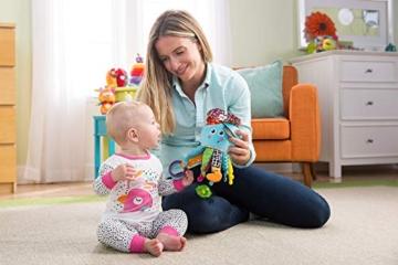 Lamaze Baby Spielzeug Captain Calamari, die Piratenkrake Clip & Go - hochwertiges Kleinkindspielzeug - Greifling Anhänger zur Stärkung der Eltern-Kind-Bindung - ab 0 Monate - 2