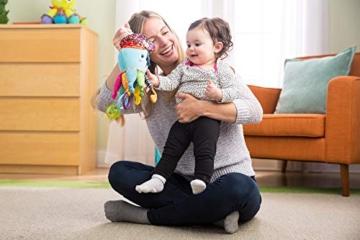 Lamaze Baby Spielzeug Captain Calamari, die Piratenkrake Clip & Go - hochwertiges Kleinkindspielzeug - Greifling Anhänger zur Stärkung der Eltern-Kind-Bindung - ab 0 Monate - 3