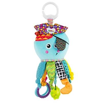 Lamaze Baby Spielzeug Captain Calamari, die Piratenkrake Clip & Go - hochwertiges Kleinkindspielzeug - Greifling Anhänger zur Stärkung der Eltern-Kind-Bindung - ab 0 Monate - 1