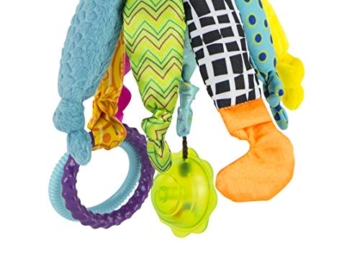 Lamaze Baby Spielzeug Captain Calamari, die Piratenkrake Clip & Go - hochwertiges Kleinkindspielzeug - Greifling Anhänger zur Stärkung der Eltern-Kind-Bindung - ab 0 Monate - 5