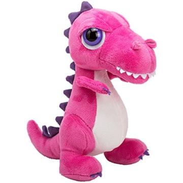 Li'l Peepers 14369 Tyrannosaurus-Rex Dinosaurier von Suki Gifts, Rosa 23 cm -