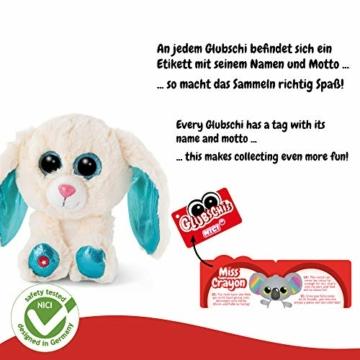 NICI 46617 Glubschis Kuscheltier Hase Wolli-Dot 15cm, Flauschiges Plüschtier mit großen Glitzeraugen, süßes Stofftier für Kinder und Kuscheltierliebhaber - 3