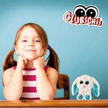 NICI 46617 Glubschis Kuscheltier Hase Wolli-Dot 15cm, Flauschiges Plüschtier mit großen Glitzeraugen, süßes Stofftier für Kinder und Kuscheltierliebhaber - 6