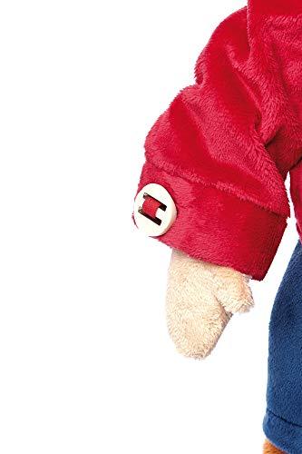 Sigikid 40989 - Mädchen und Jungen, Stofftier Lern-Affe, Spielerisch An Ausziehen lernen, rot/dunkelblau - 3
