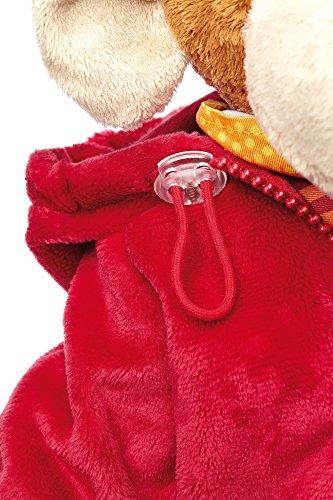 Sigikid 40989 - Mädchen und Jungen, Stofftier Lern-Affe, Spielerisch An Ausziehen lernen, rot/dunkelblau - 9