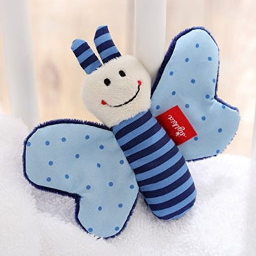 sigikid, Mädchen und Jungen, Greifling Schmetterling, Blau, 41180 - 3