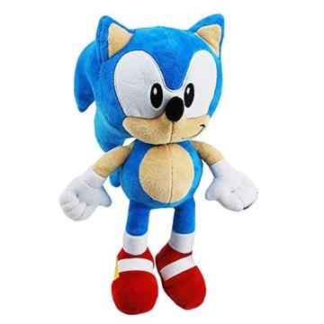 Sonic The Hedgehog Plüschsäge, 28 cm, Farbe -