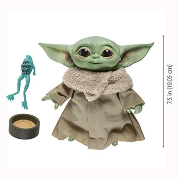 Star Wars The Child Talking Plush Toy with Character Sounds and Accessories, The Mandalorian Toy for Kids Ages 3 and Up - 1