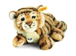 Steiff 066269 - Radjah Baby Schlenker Tiger 28 cm liegend - 1